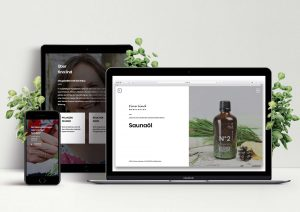 LUA LAB | lualab.com | tina lind, ambiente fragrances, sauna oils | design, brand, branding, identity, visual, corporate, website